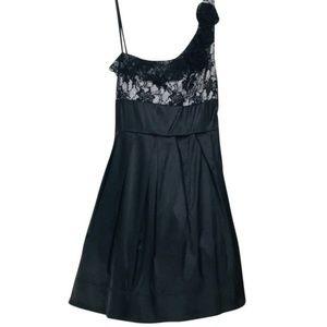 Alyn Paige ~ Satin One Shoulder Cocktail Dress